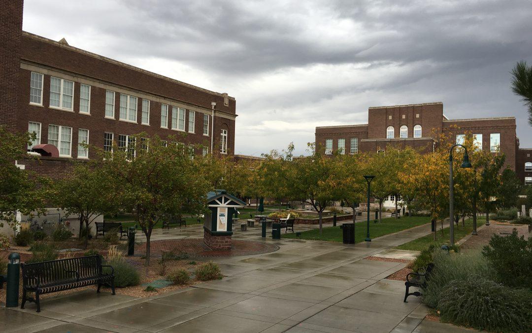 Rainy Fall Day at The Lofts